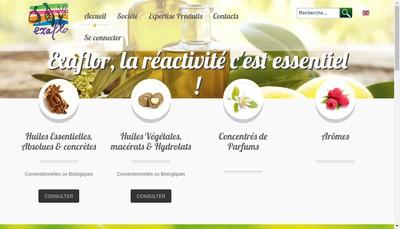 Site internet de Exaflor