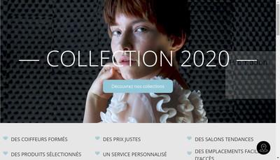 Site internet de Excel Coiffure