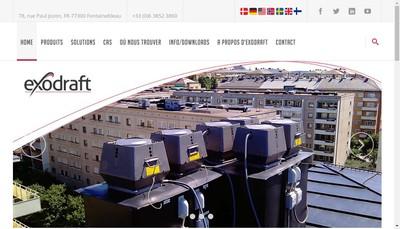 Site internet de Exhausto Cdt