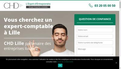 Site internet de Chd Lille