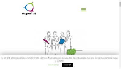 Site internet de Expertiss