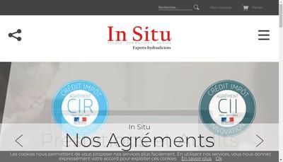 Site internet de In Situ