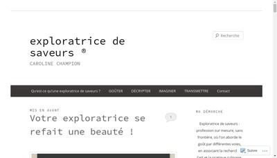 Site internet de Convergences Culinaires