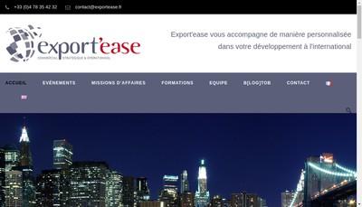 Site internet de Export'Ease