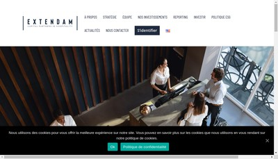 Site internet de Extend Asset Management