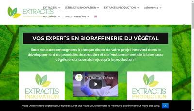 Site internet de Extractis