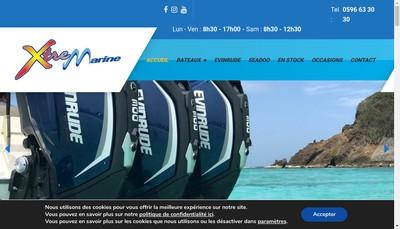 Site internet de X-Tremarine
