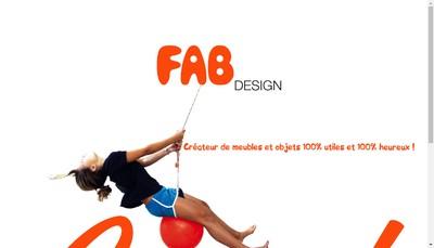 Site internet de Fab Design