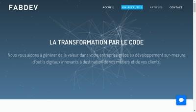 Site internet de Oui Web