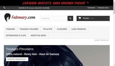 Site internet de Fabmary.com