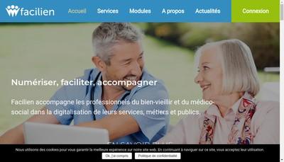 Site internet de Facilien