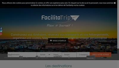 Site internet de Facilitatrip