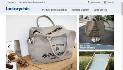 Site internet de Factorychic