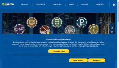 Site internet de Garbarini - Siat - Multitoll Solutions