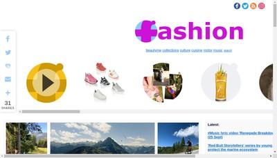 Site internet de Fashion Office & Friends