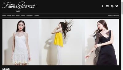 Site internet de Fatima Guerrout