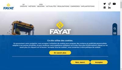Site internet de Somifa Sud Ouest