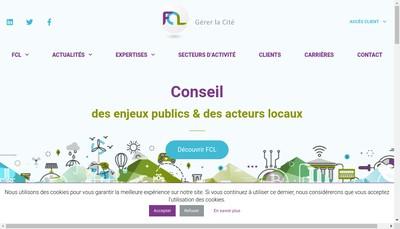 Site internet de Fcl