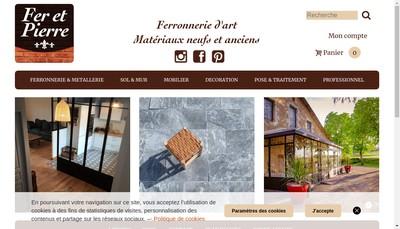 Site internet de Fer et Deco