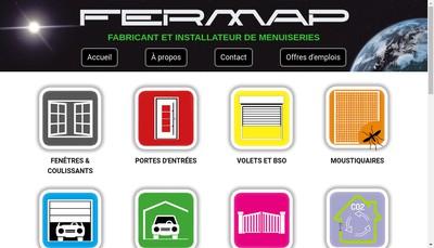 Site internet de Fermap