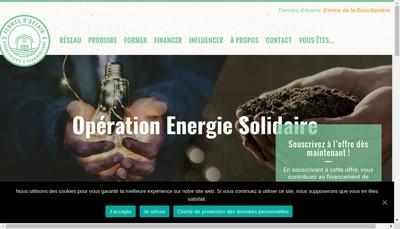 Site internet de Transition Ecologique France