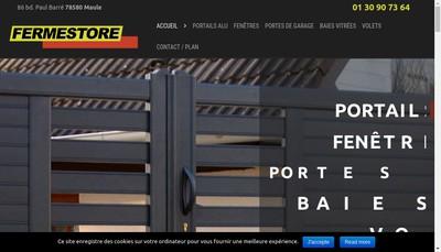 Site internet de Fermestore