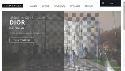 Site internet de Festiveau Rp