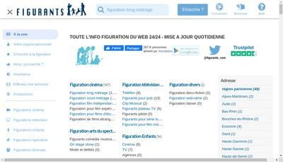 Site internet de Castingdujour