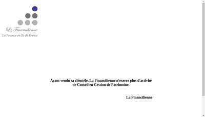 Site internet de La Financilienne