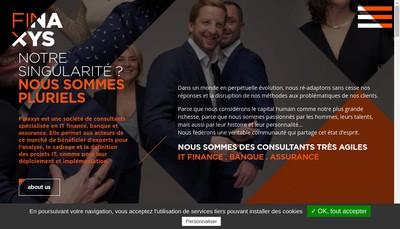 Site internet de Finaxys