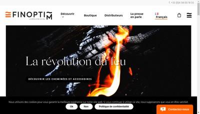 Site internet de Finoptim