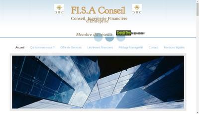 Site internet de Fi SA Conseil
