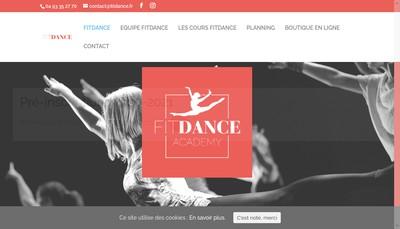 Site internet de Fit'Dance