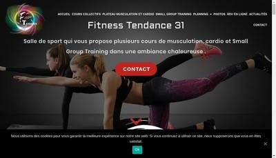 Site internet de Fitness Tendance 31