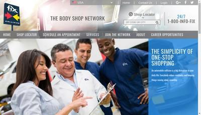 Site internet de Fix Auto Chaumont