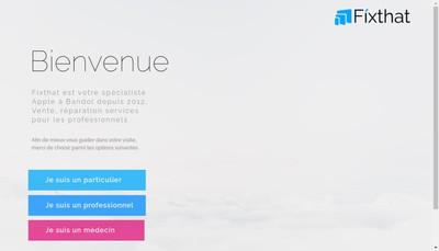 Site internet de Fixthat Fr