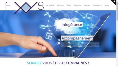 Site internet de Fixys