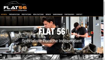 Site internet de Flat 56