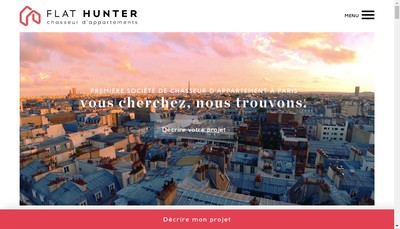 Site internet de Chasseur Immob - Property Search Experts