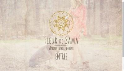 Site internet de Fleur de Sama