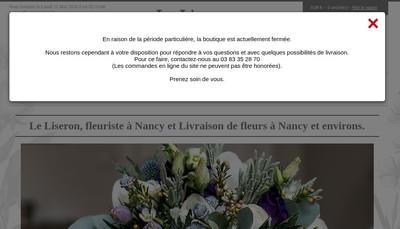 Site internet de Le Liseron