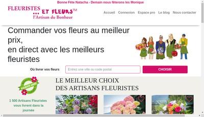 Site internet de Morgane Fleurs