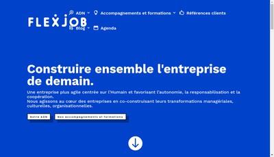 Site internet de Flexjob