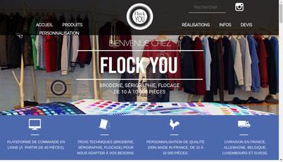 Site internet de Flock You