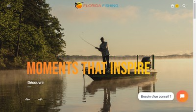 Site internet de Florida Fishing