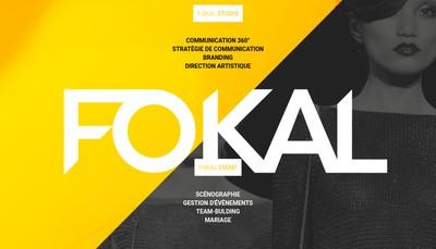 Site internet de Fokal Studio
