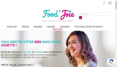 Site internet de Food'Joie