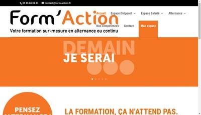 Site internet de Form'Action