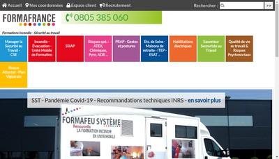 Site internet de Formafrance