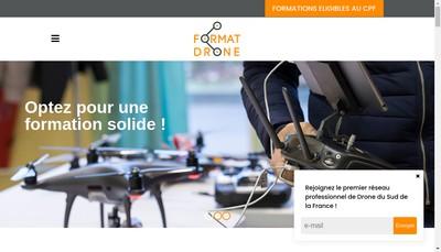 Site internet de Format-Drone